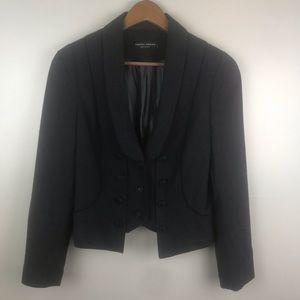 DOROTHY PERKINS Blazer Black Captains Jacket